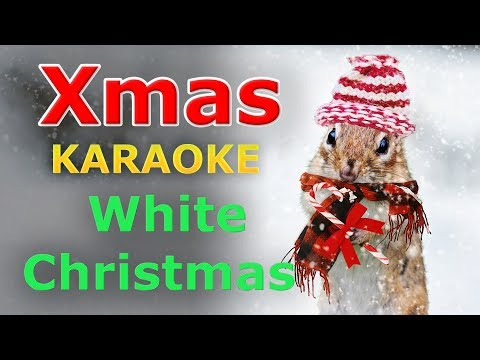 Christmas Songs - White Christmas KARAOKE with Lyrics