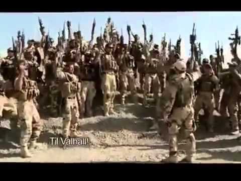 Norwegian Soldiers Battle Cry In Afghanistan   'Til Valhall' To Valhalla 1