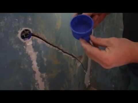 Перенос внутренней розетки на стене