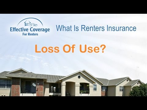Loss Of Use Coverage >> What Is Loss Of Use Coverage On Renters Insurance Los
