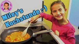 MILEYS KOCHSTUNDE | Was kann eine 7 Jährige kochen | CuteBabyMiley