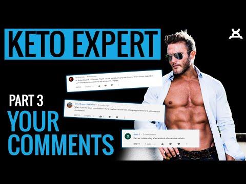 KETO DIET   Ketogenic Diet Questions, Answered! Daniel Ventura Q&A Pt.3
