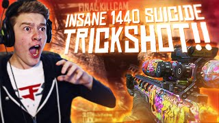INSANE 1440 THREE PIECE TRICKSHOT!!