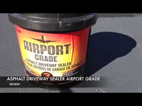 Airport Grade Asphalt Driveway Sealer Review You