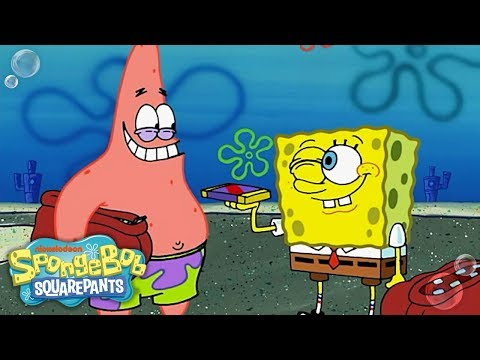Chocolate w/ Nuts 🥜 in 5 Minutes | SpongeBob
