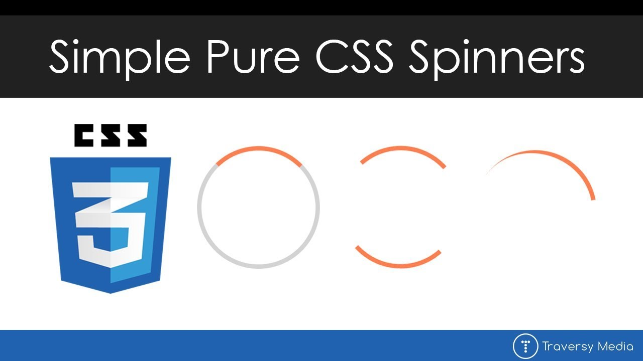 Simple Pure CSS Spinners