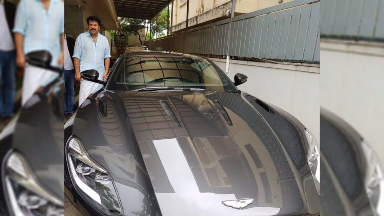 Mammootty Test Driving Aston Martin I First Aston Martin In Kerala
