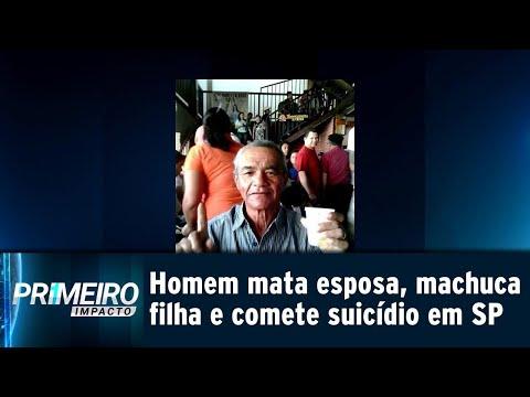 Idoso comete suicídio após matar esposa e ferir a própria filha | Primeiro Impacto (19/07/18)