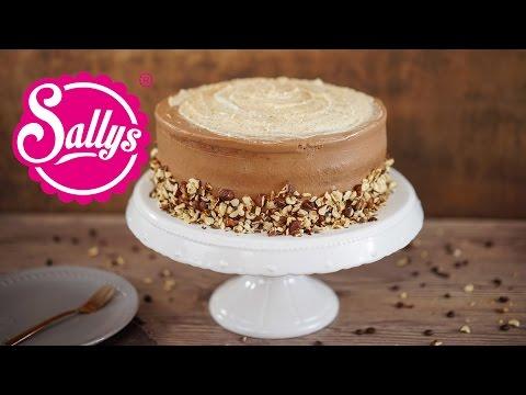 Haselnuss-Latte-Macchiato-Torte mit Nutellacreme