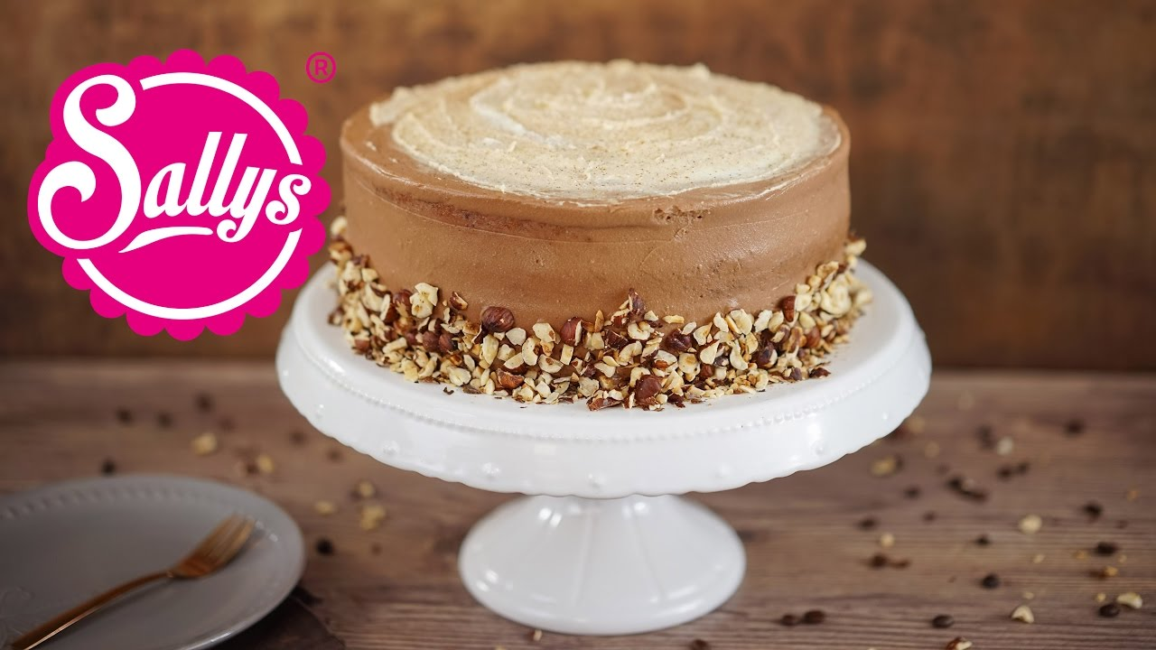 haselnuss latte macchiato torte mit nutellacreme youtube