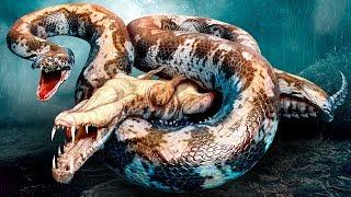 공룡 멸종의 이유가 거대한 뱀이었을 수도 있어요