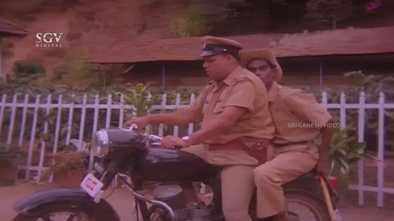 Download Bank Janardhan and Biradar Reporting Missing Case | Shhh Kannada Movie Comedy Scene