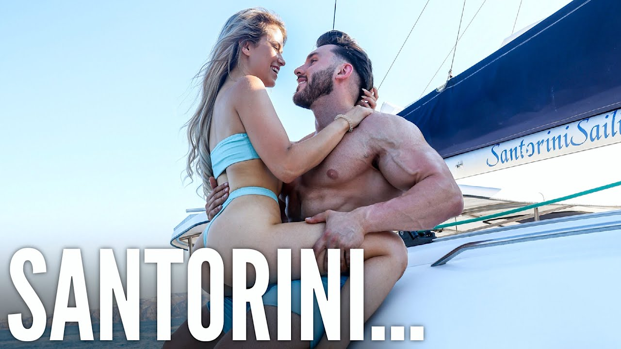 TAKING MY GIRLFRIEND TO SANTORINI   OUR FIRST TIME...