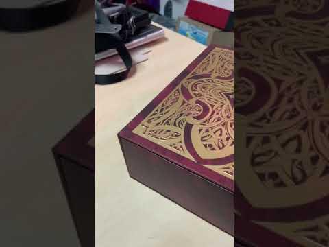 กล่องจั่วปัง กล่องกระดาษจั่วปัง ติดแม่เหล็ก กล่องใส่นิยาย
