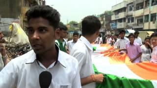 Chennai School Students Mega Flag march - RedPix24x7