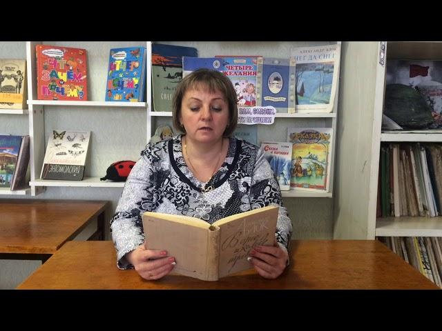 Изображение предпросмотра прочтения – СветланаПодорожная читает произведение «На железной дороге» А.А.Блока