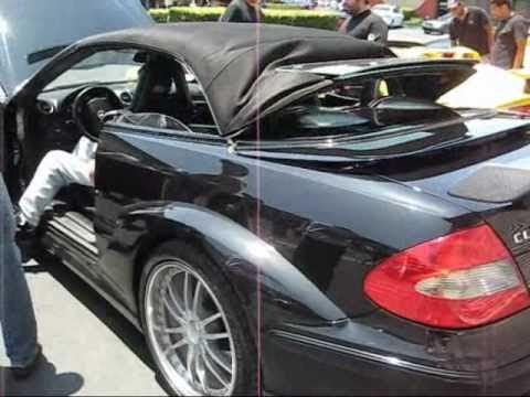 mercedes benz clk dtm cabriolet roof operation youtube rh youtube com Mercedes CLS Mercedes SLS