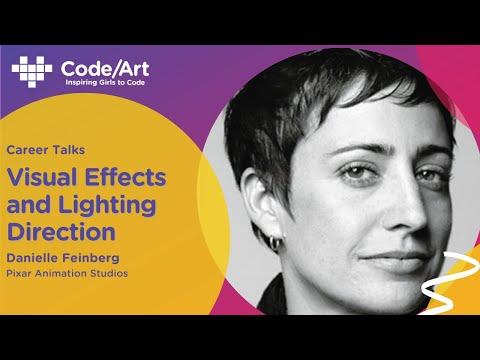 Code Art Fest 2021 - Fireside Chat with Danielle Feinberg
