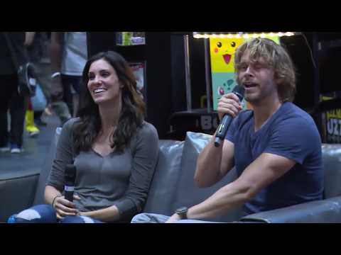 NCIS: LA Daniela Ruah & Eric Christian Olsen interview @MCM London May 2017