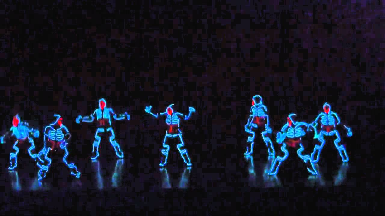 Dance neon youtube - Luces de neon ...