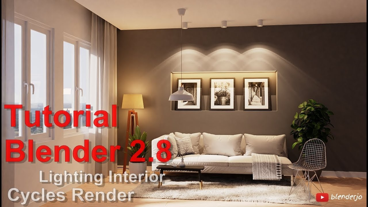 ArtStation - Tutorial Blender 2 8 - Lighting In Cycles Render, Joko