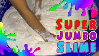 OMG Naya Buat Slime Super Jumbo, Sampai 50 Kg Loh !