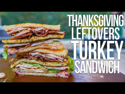 The Best Thanksgiving Leftovers Turkey Sandwich | SAM THE COOKING GUY 4K