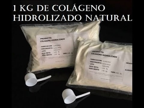 9bd485ba4 Colágeno hidrolizado en polvo y sus beneficios - YouTube