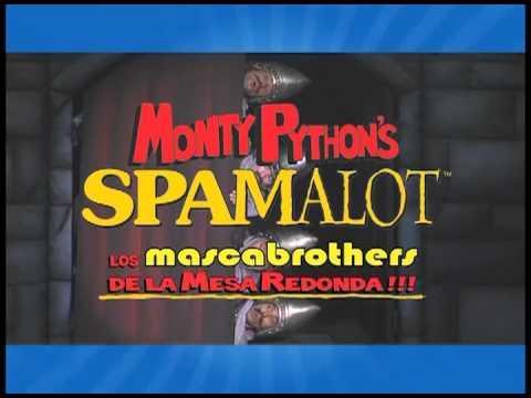 """Monty Python´s SPAMALOT los MASCABROTHERS de la mesa redonda"""