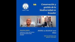ENT Francisco Prieto, Subdirector Técnico del Instituto Nacional de Biodiversidad (INABIO)