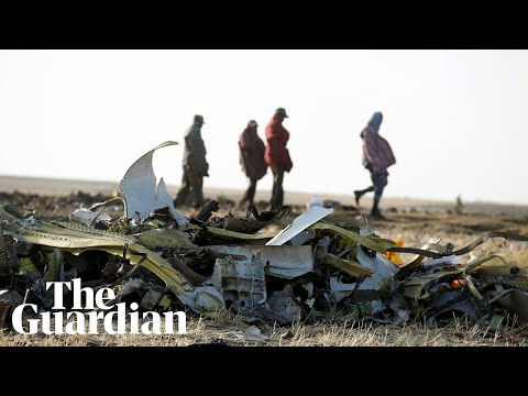 Ethiopia plane crash: relatives wait for remains of loved ones