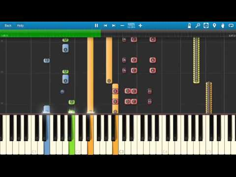 The Beatles - Being For The Benefit Of Mr Kite - Piano Tutorial - Synthesia - How To Play