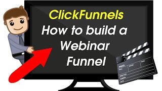 Clickfunnels Review - How to build a Webinar Registration Funnel - Automated Webinars