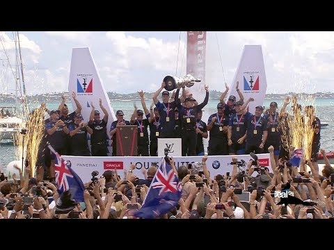 Goslings Sport: Emirates Team New Zealand Wins the America's Cup!