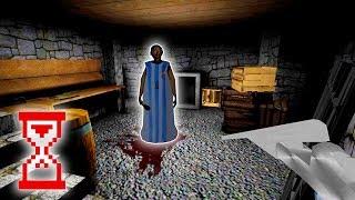Granny 1.4 Баг арбалета Бабка застыла в подвале
