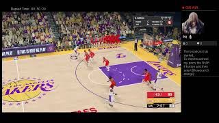 2K19 Roster Lakers vs Rockets