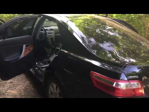Toyota Camry v40 - разборка салона!