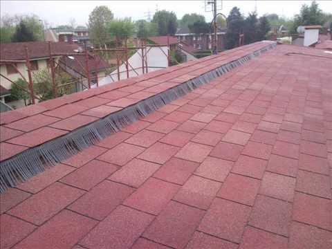 Tetto ventilato con tegole canadesi impresa edile pardo for Montaggio tetto in legno ventilato
