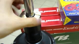 Проверка люфта опоры стойки передней подвески