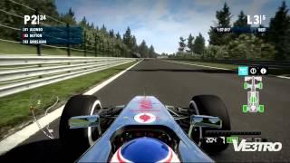 F1 2012 - McLaren Belgium Circuit de Spa-Francorchamps Gameplay