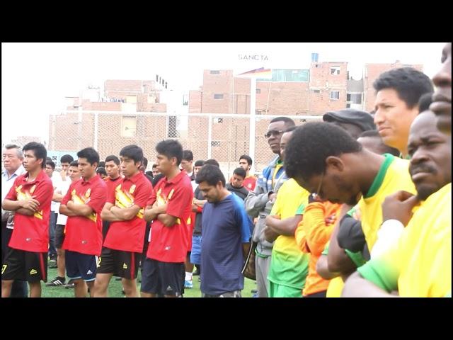 Mons.  Carlos Castillo, mensaje a los jóvenes en formación