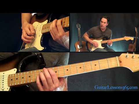 Everlong Guitar Lesson - Foo Fighters