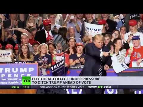 You can change the course of history US Electoral College members facing immense pressure