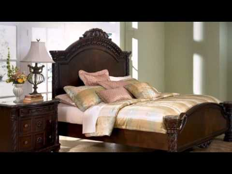 North Shore Panel Bedroom Set From Millenum By Ashley Youtube
