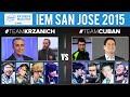 Team Krzanich vs Team Cuban - IEM San Jose 2015 ARAM Celebrity Showmatch