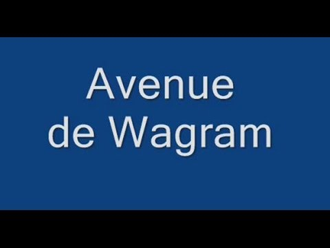 Avenue de Wagram Paris Arrondissement  8e, 17e