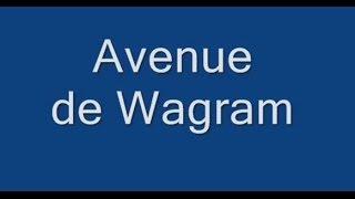 Avenue de Wagram Paris Arrondissement  8e, 17e