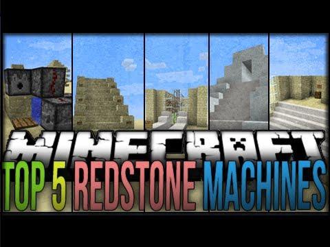 Top 5 Minecraft Redstone Machines 2 Minecraft