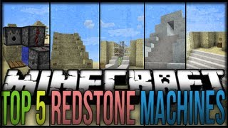 Top 5 Minecraft Redstone Machines 2 Minecraft