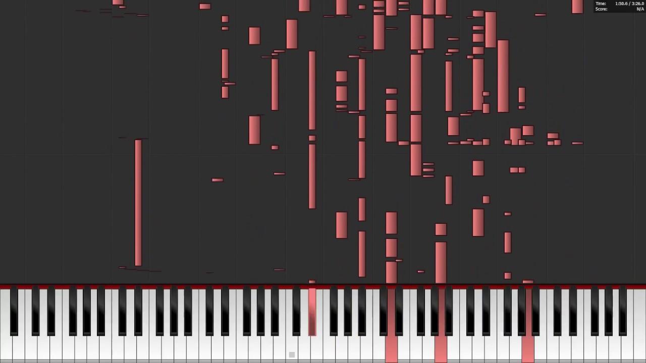 Joji - SLOW DANCING IN THE DARK - Auditory Illusion (Piano Midi Cover) Hear  Lyrics